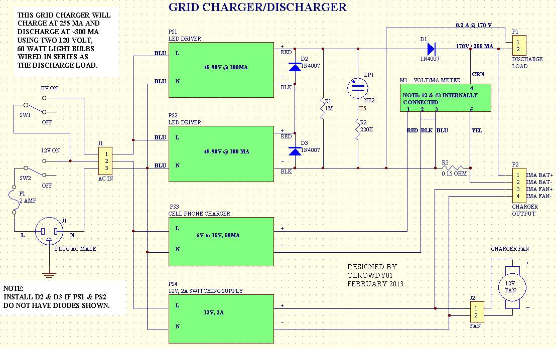 Grid Charger Discharger