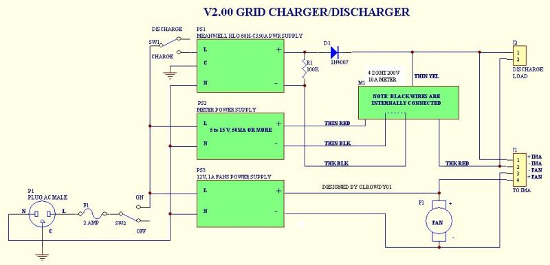 V2 grid charger schematic